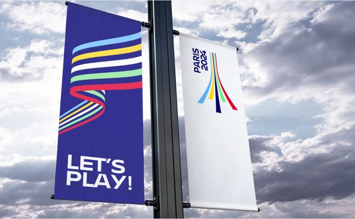 Paris 2024 Olympic Games - Graphic Design and Brand Proposal by Graphéine.