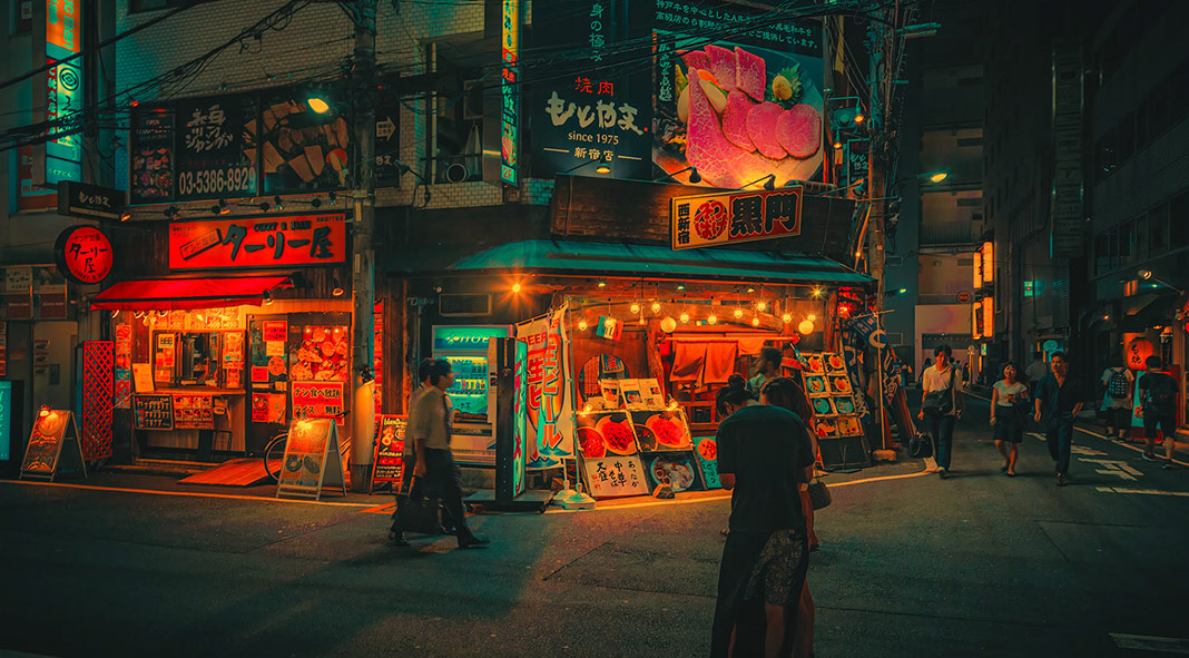 Dream World Neon Colored Japan Captured By Photographer Anthony Presley