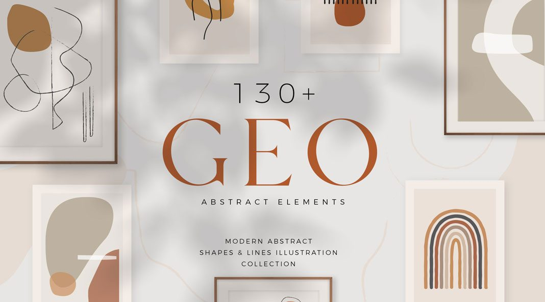 Earthcoast Geo Abstract Collection by Sans & Sons.