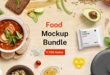 Food Mockup Bundle from Lstore Graphics.