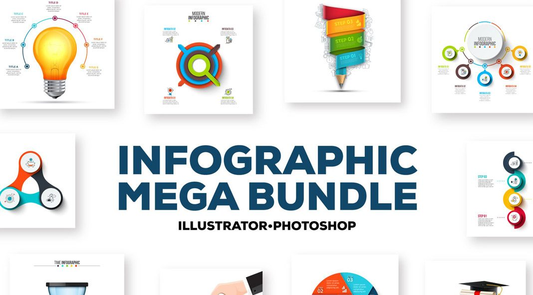Infographics Mega Bundle by Abert