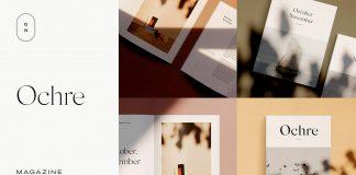 Ochre – Magazine Mockups for Adobe Photoshop