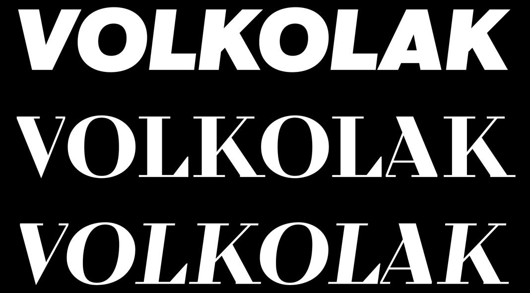 Volkolak font family by Wraith Types.