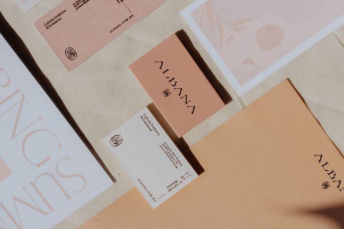 Albana branding by Monotypo Studio.