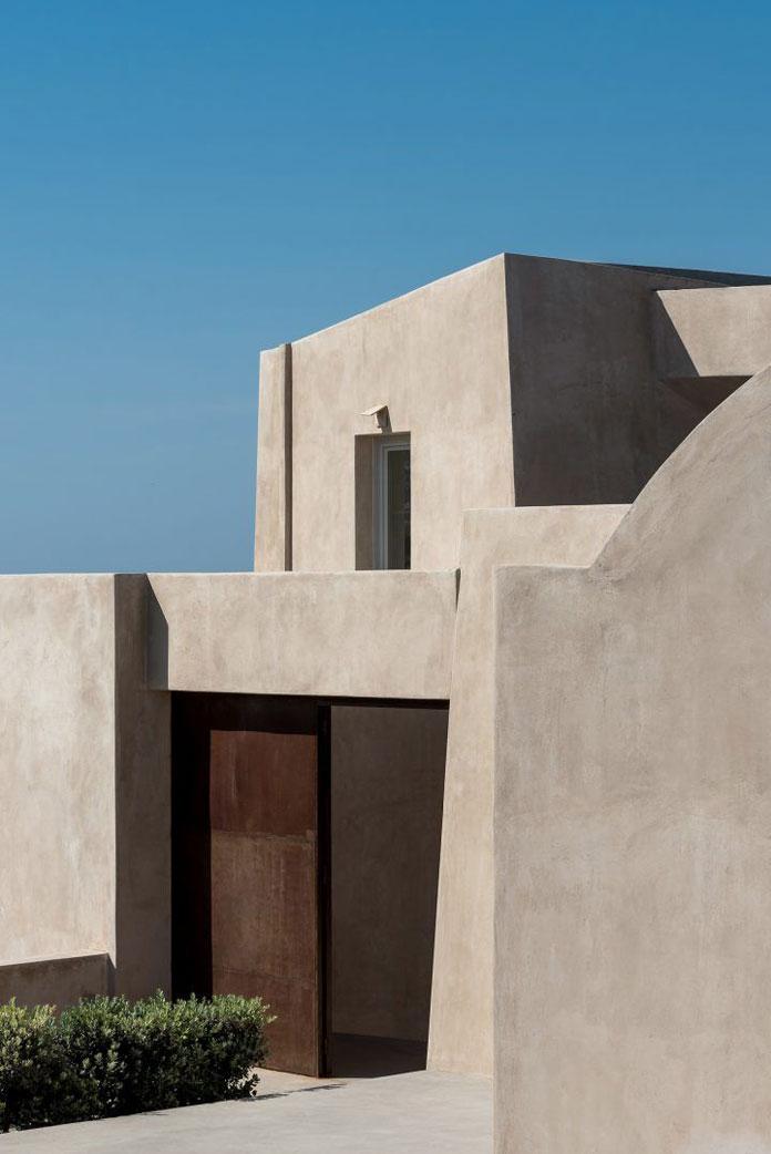 HOUSE IN PYRGOS, Santorini, Greece by Kapsimalis Architects.