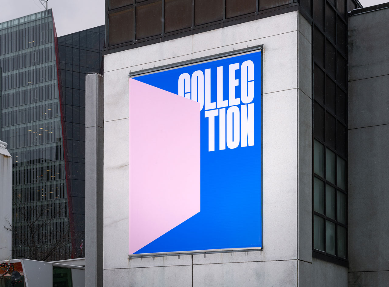 MACollection Exhibition design by graphic design studio Caserne.