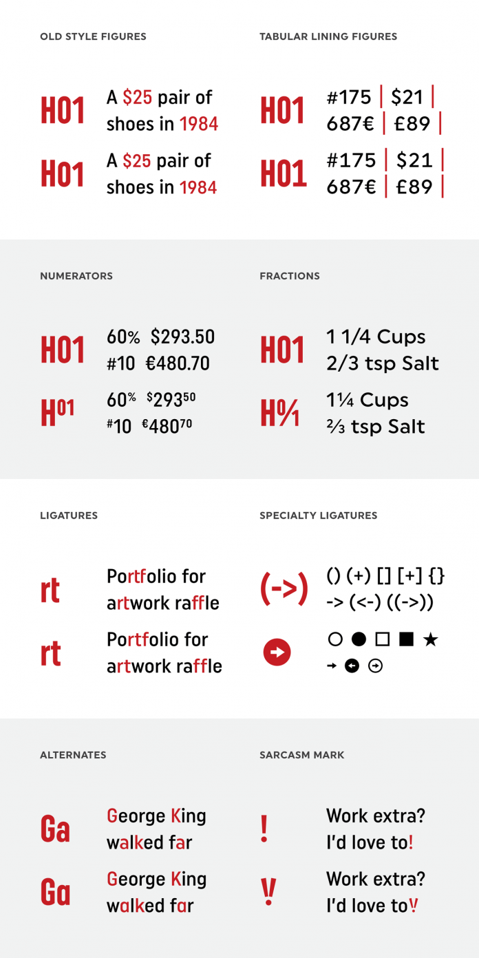 Uniform Pro font family from Miller Type Foundry.