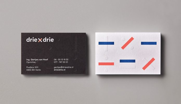 Driexdrie branding by graphic design studio George&Harrison.