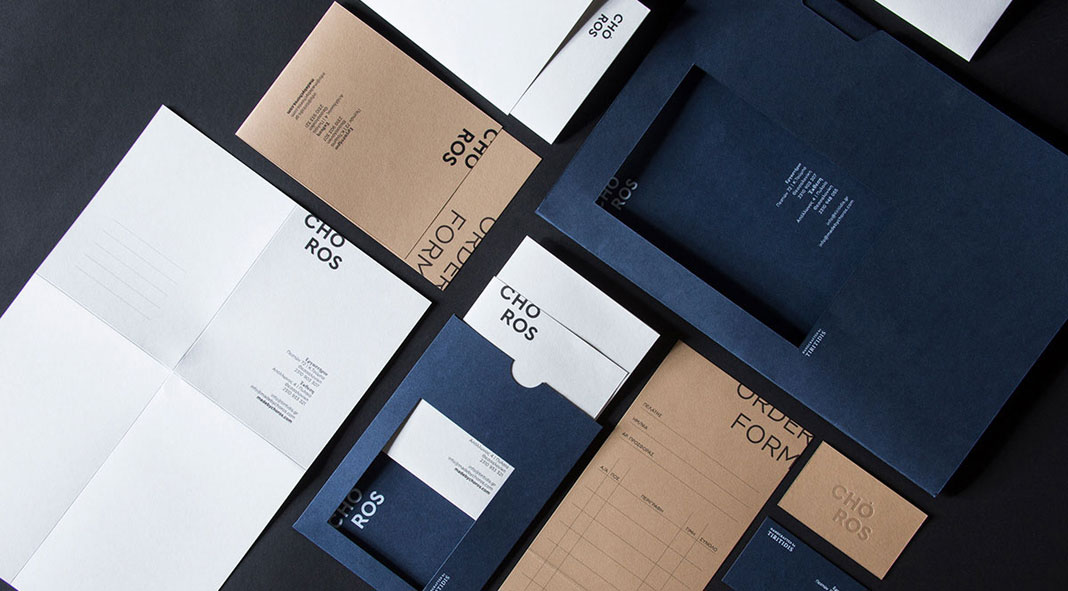 Art Direction, Graphic Design, and Branding by Blind Studio for Choros by Tiritidis