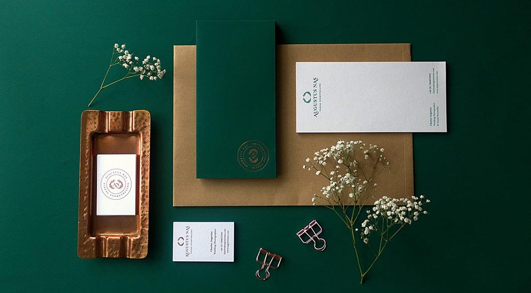 Branding by Magenda Alieu for Augustus Nas - Wedding Photography