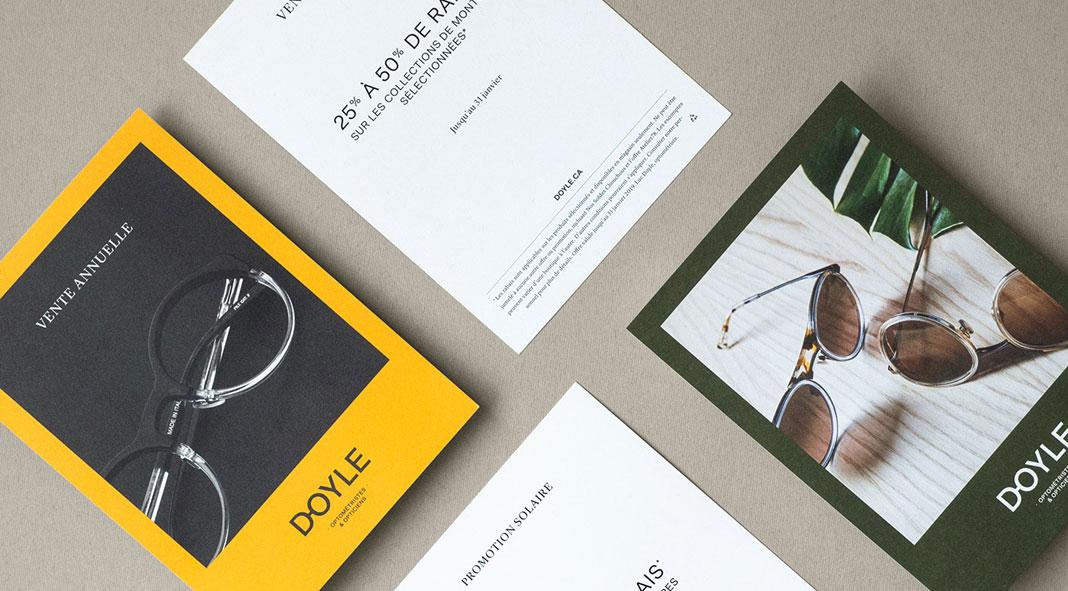 Doyle—Optician Branding by Vanessa Pepin and Les Garçons