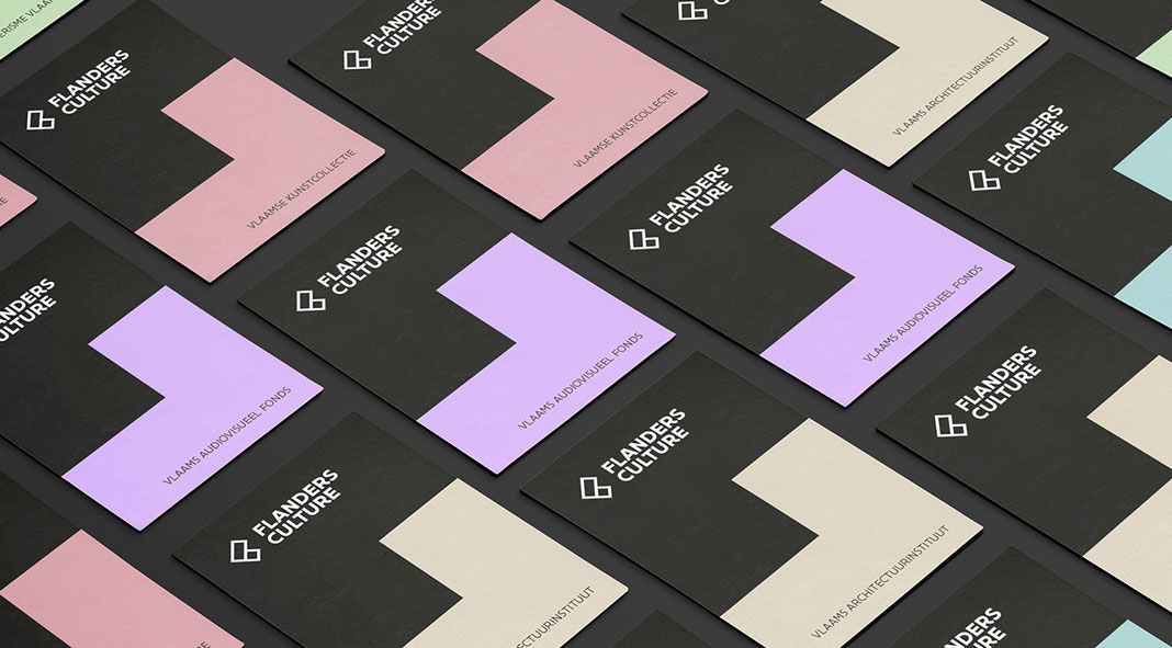 Graphic Design & Branding by Tim Bisschop for Flanders Culture