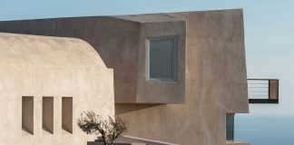 HOUSE IN PYRGOS, Santorini, Greece by Kapsimalis Architects.