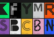 Typographic poster design by Buro Reng for Mister Type.