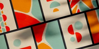 WAVA: bold, abstract, ready-to-use watercolor shapes to make your design more visually pleasing