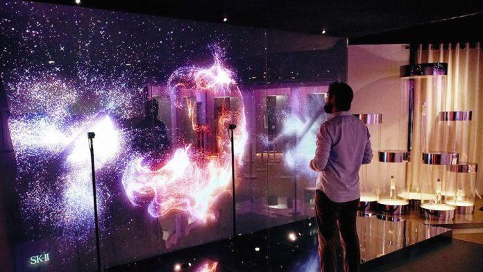 SK-II Future X Smart Stores: interactive portrait installations by Rare Volume.