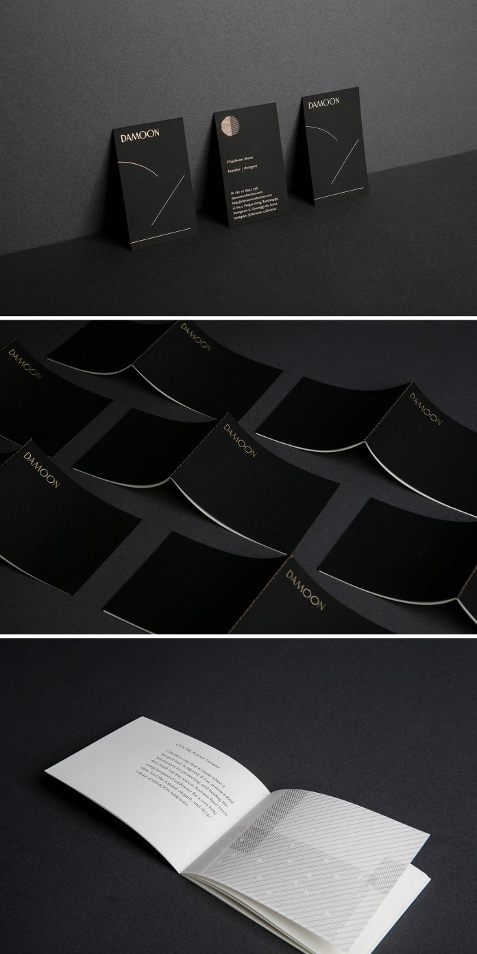 Damoon branding by Korean graphic design studio CFC.