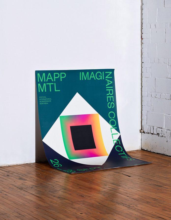 MAPP MTL 2020 campaign posters by Demande Spéciale.