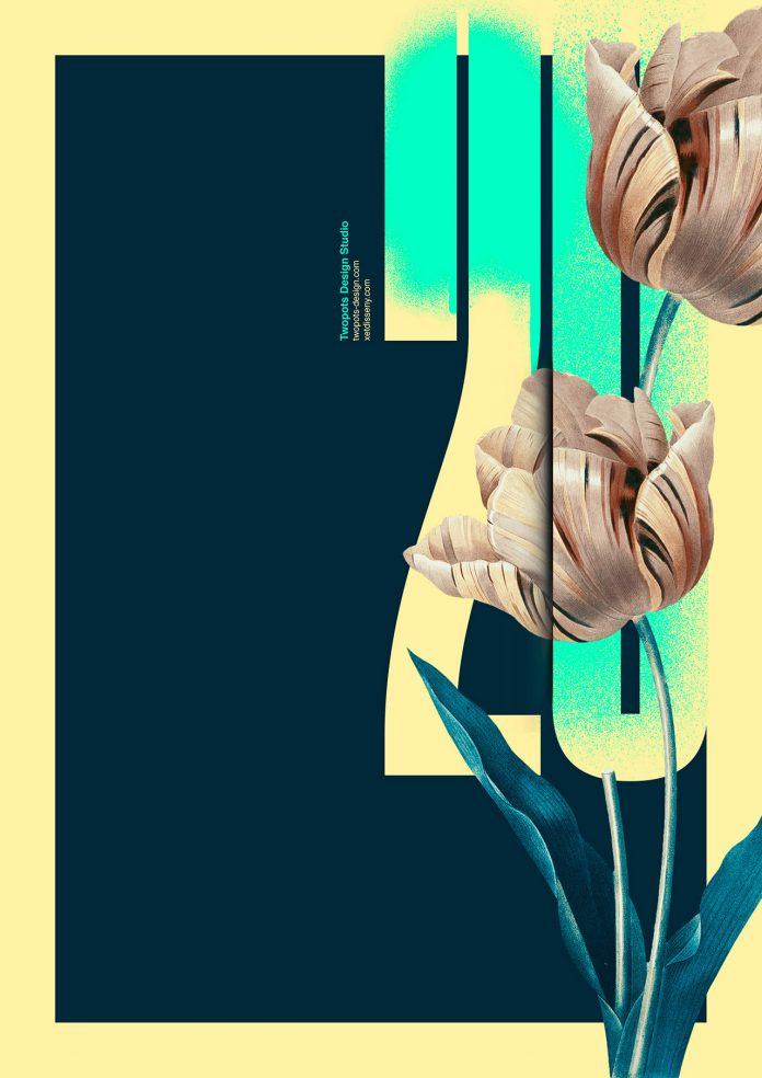 Flowers poster collection by Xavier Esclusa Trias.