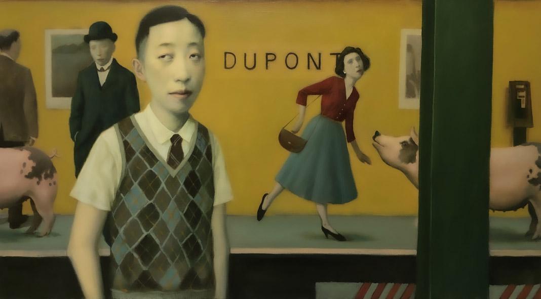 Jeffrey Chong Wang Solo Show at Gallery House in Toronto