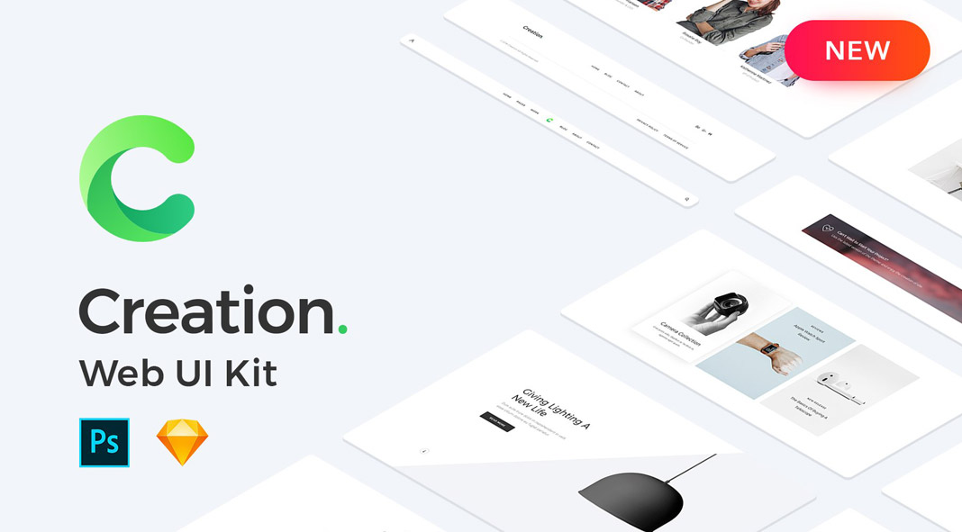 Web UI Creation Kit 1700+ blocks, 250+ pages.