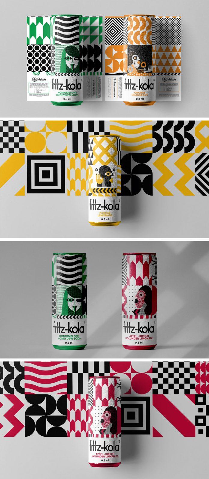 Fritz-Kola Packaging Design Concept by Vinille Büro