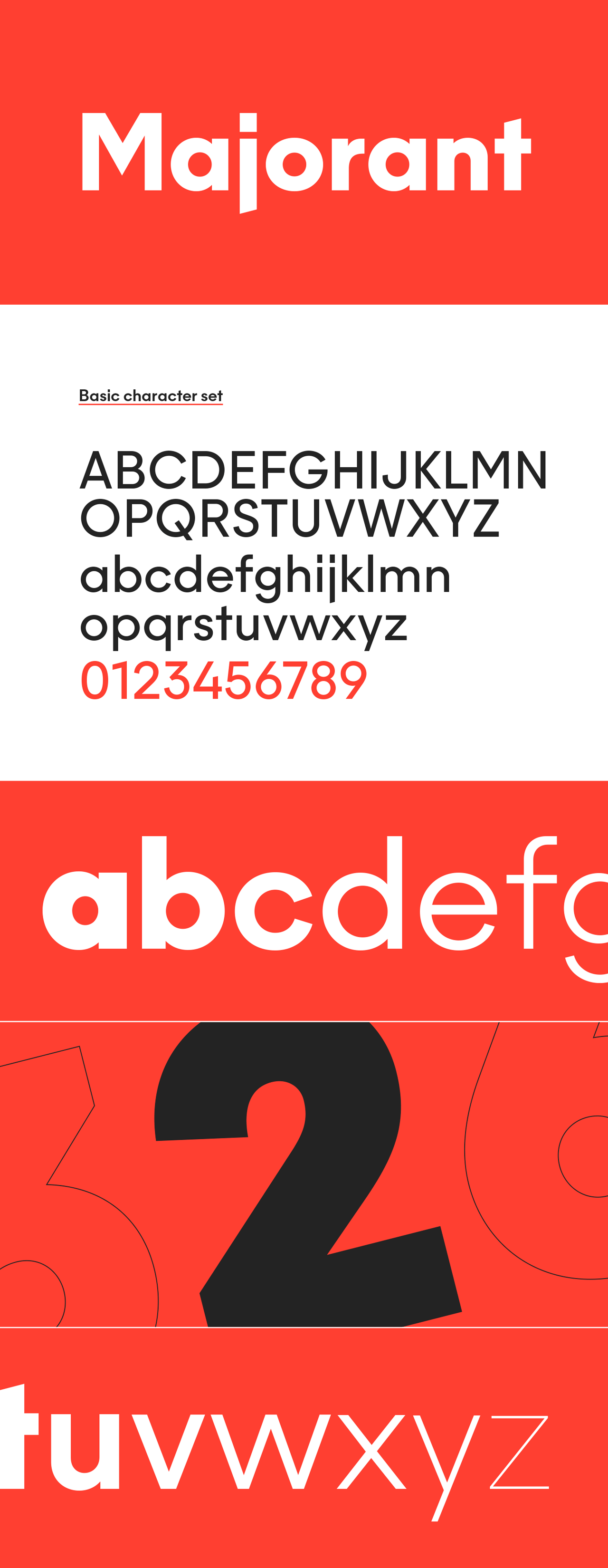 Majorant Font Family by Emtype Foundry