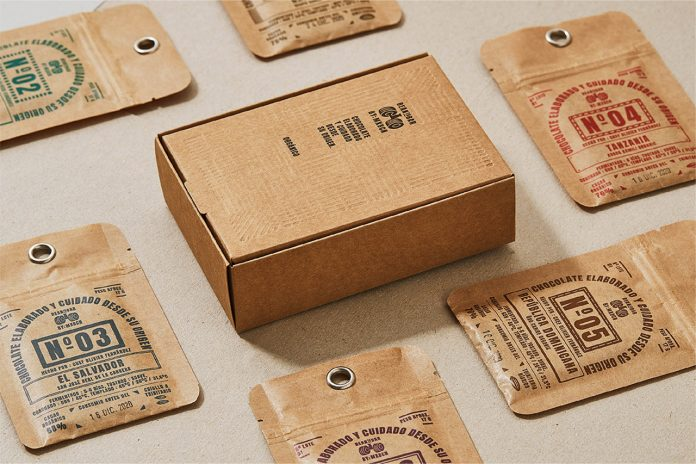 Bean to Bar packaging and brand design by Zoo Studio.