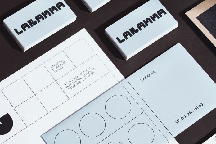 Branding by graphic design studio Futura for carpentry workshop Lakanna.