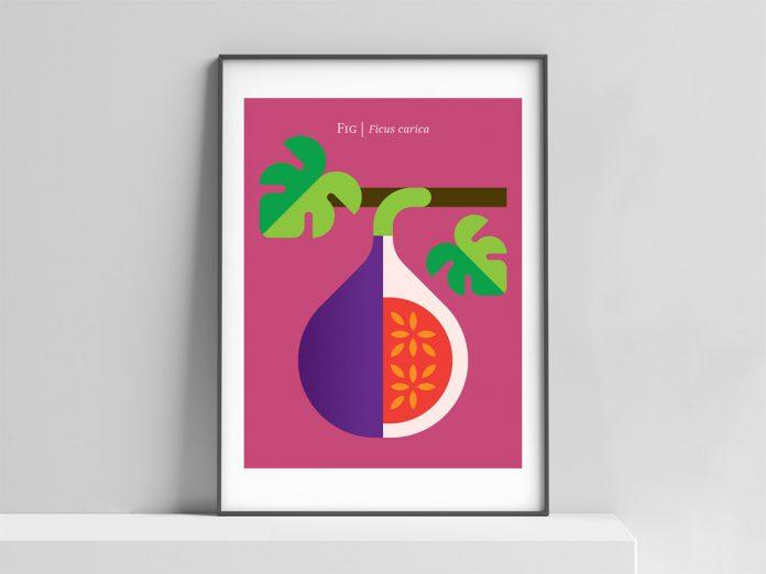 Uplifting modern art print by Christopher Dina.