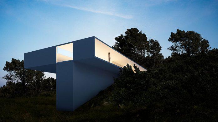 House in Benahavís, Málaga by Fran Silvestre Arquitectos.