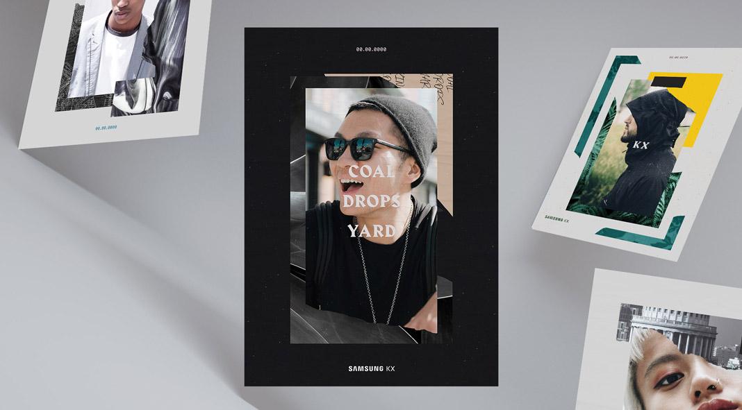 An interactive souvenir experience created by Rare Volume for Samsung KX.