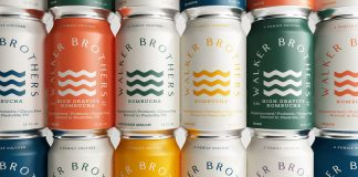 Brand identity and packaging by graphic design studio makebardo for Walker Brothers.
