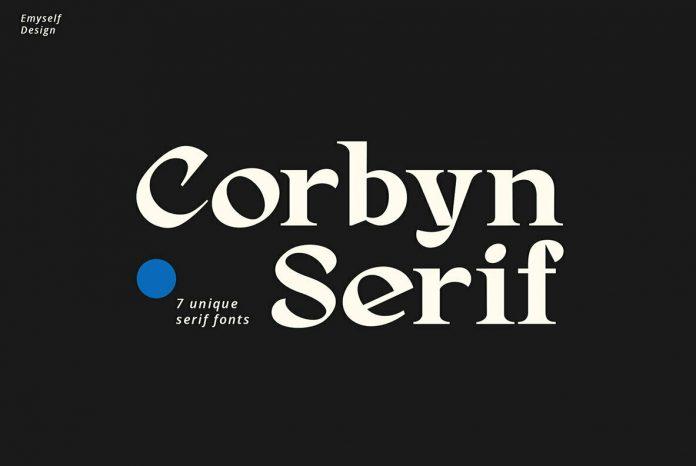Corbyn Serif Font