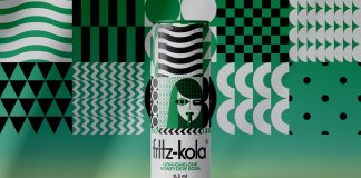 Fritz-Kola packaging design concept by Vinille Büro.