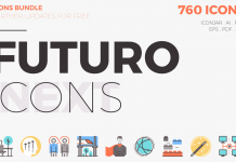 Futuro Next Icons Bundle by Bloomicon