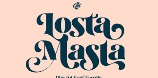 Losta Masta font family by Creativemedialab.