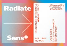 Radiate-Sans Font Family by Studio Sun.