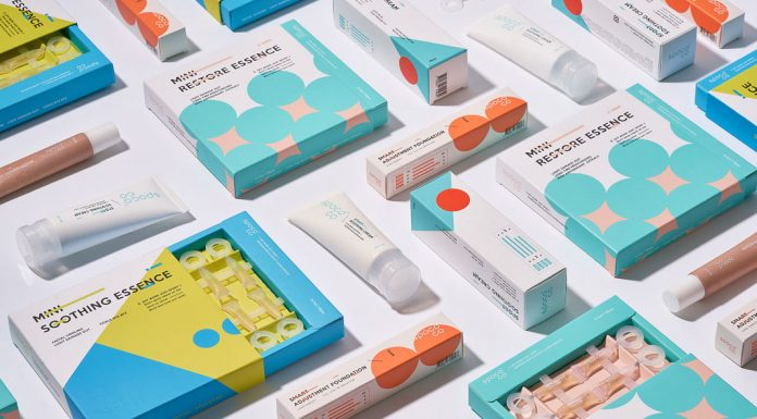 SPCOCO cosmetics and beauty brand design by Maybe Chang.