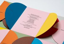 Wedding invitation by graphic design studio Hey