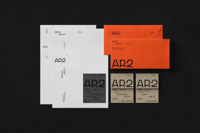 AR2 branding by graphic design studio Another Collective.