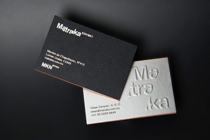 Graphic design and branding by Anagrama Studio for marketing agency Matraka.