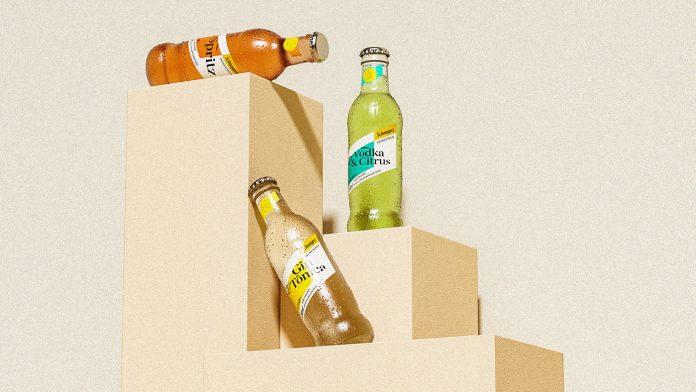 Schweppes Premium Drinks — branding case study by Pharus Design.