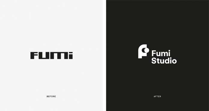 Graphic design and branding by bisoñ studio for Fumi Studio.