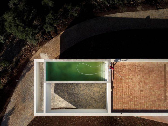 House in São Bartolomeu de Messines, Portugal by Vitor Vilhena Architects.