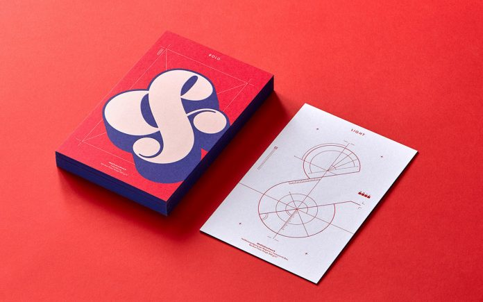 Mediadruckwerk sample box by interdisciplinary graphic design studio EIGA.