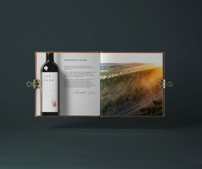 Graphic design and branding by Casetograf for Land of Basarabia.