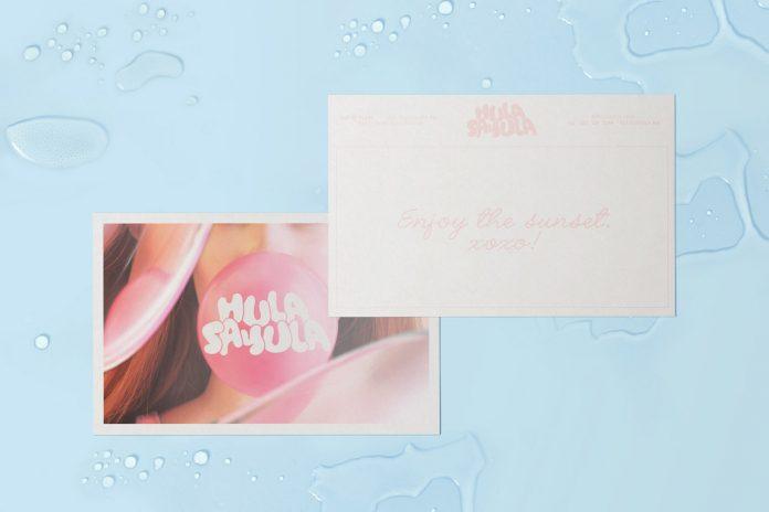 Branding by graphic design studio Futura for Hula Sayula, a beach bar in the village of Sayulita, Mexico.