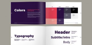 Brand Guide Book Layout for Adobe InDesign