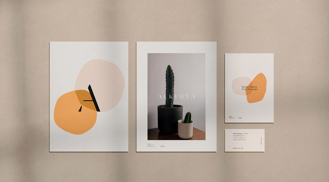 Graphic Design And Branding By Latente Studio For Alkimya